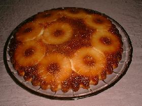 Gateau à lananas dessert