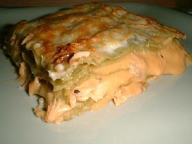 Lasagnes au saumon plat principal