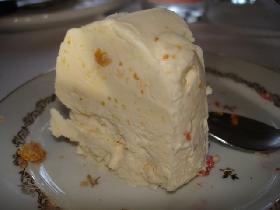 Crème glacée aux agrumes