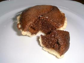 Tartelette au chocolat fondant