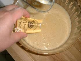 ajouter le sucre vanillé