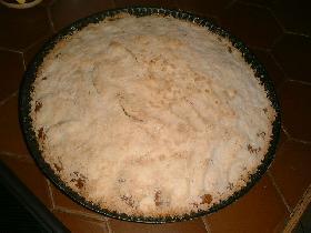enfourner 5 à 10mn ( le granité est légèrement doré ). on peut remplacer les pommes par des abricots ( plus moelleux )
