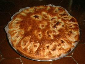 poursuivre la cuisson 20 à 25mn, la servir tiède accompagnée de glace à la vanille