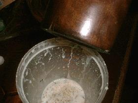 saler, poivrer<br /> ajouter le basilic ciselé