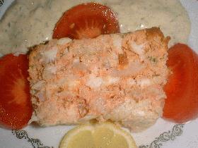 d?couper en tranches et servir avec une mayonnaise verte (mayonnaise ? laquelle on ajoute c?pres, persil et ciboulette mix?s